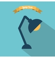 lamp design vector image