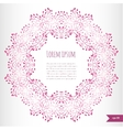 omantic floral background with place for your vector image