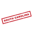 South Carolina Rubber Stamp vector image