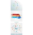infographics element vector image
