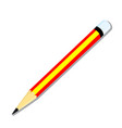 isolated of pencil - vector image