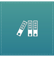 Office folder icon vector image