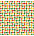 houndstooth pattern seamless vector image