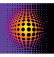 3d abstract background vector image vector image