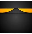 Dark abstract corporate background vector image
