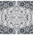 Beautiful geometric design on white background vector image