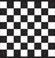 Empty chess board vector image