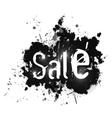 Sale grunge background vector image