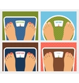 weight control vector image vector image