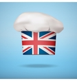 British national cuisine vector image