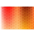 Color Brickwall Texture vector image vector image