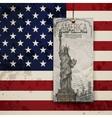 Statue of Liberty USA vector image