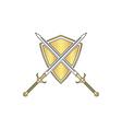 heraldry computer symbol vector image