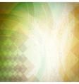 vintage spring background vector image vector image