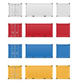 Cargo container 03 vector image