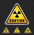 Caution design vector image