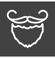 Beard and Moustache I vector image