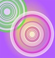 Circle Light purple background vector image