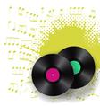 vinyls and blots vector image