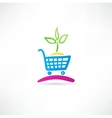 Symbol is ecological shopping Vector Image
