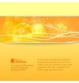 Abstract nature banner vector image