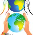 world equality vector image