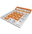 simple calculator vector image