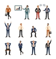 Group of business and office people vector image