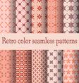 retro seamless pattern-02 vector image
