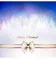 Christmas greeting-card vector image