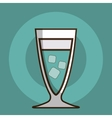 Coktail bar drink vector image