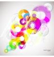 colorful circles vector image