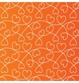 Hearts lines background Love wallpaper vector image