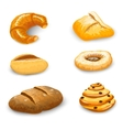 Bakery Set Isolated vector image