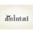 Animal4 vector image