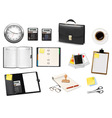 Office and business items vector image