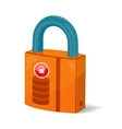 Data Storage Sign Symbol Icon Lock Isolated vector image