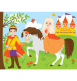 Princess and Prince vector image