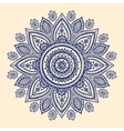 Beautiful Indian paisley ornament vector image