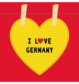 I lOVE GERMANY5 vector image