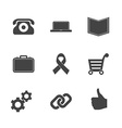 Set of e-commerce icons vector image