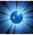 disco explosion vector image vector image