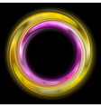 Colourful abstract rings vector image