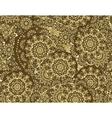 flower paisley seamless pattern element vector image vector image