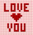 Silky valentine pattern postcard vector