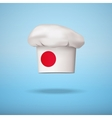 Japanese national cuisine vector image