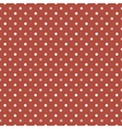 seamless vintage polka dot vector image vector image