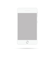mobile phone in white vector image