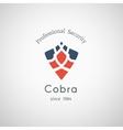 Cobra Security Logo vector image