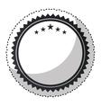 elegant circular frame icon vector image